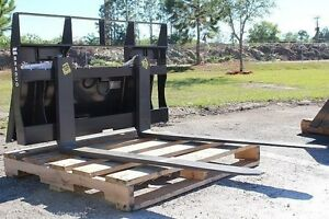 Terex Ro70t rc30 Pt30 Pallet Forks By Bradco Heavy Duty 48 Long