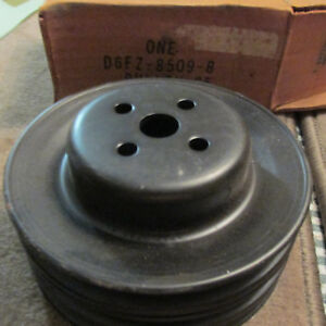 Nos 1974 1980 Ford Mustang Ii Pinto 2300cc 2 3l 3 Grove Waterpump Pulley New