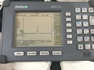 Anritsu Ms2711a Handheld Spectrum Analyzer 100khz 3ghz