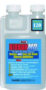 Marine Biobor Md Diesel Additive Improves Fuel Efficiency Performance 16oz