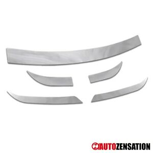 For 2005 2010 Chrysler 300 Limited Chrome Bumper Deck Cover Trims Front Rear 5pc