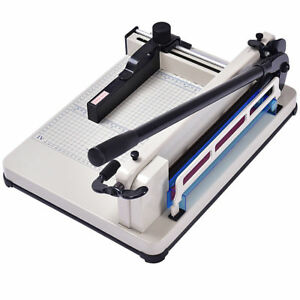 12 A4 Paper Book Cutter Trimmer Cutting Bar Machine Heavy Duty 400 Sheets Ruler