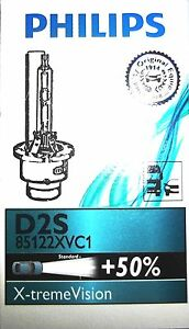 Philips D2s Xtreme Vision Xenon Hid Upgrade Headlight Bulb Single 85122xvc1