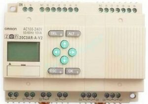 Omron Programmable Relay Zen 20c3ar a v2 New And Good