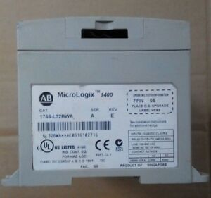 Ab Allen Bradley Plc 1766 l32bwa Micrologix 1400 32 Point Controler Used And Goo