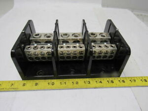 Marathon Electric 1453986 Power Terminal Block 760a 600v Ac dc