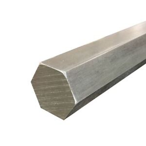 316 Stainless Steel Hexagon Bar Size 1 375 1 3 8 Inch Length 12 Inches