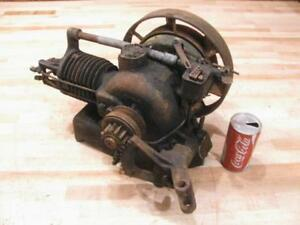 Antique Nelson Brothers Hb 1 3 Hp Hit Miss Gas Engine Turns Over Needs Work