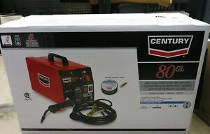 New Century 80gl Mig Flux cored Wire Feed Welder K2501 1