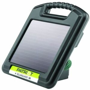 Patriot Solarguard 50 Solar Electric Fence Charger Energizer 12 Acre 3 Mile