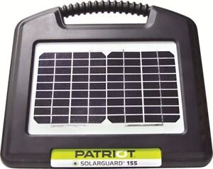 Patriot Solarguard 155 Solar Electric Fence Charger Energizer 10 Mile 40 Acres