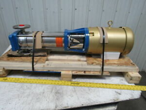 Gould Pump 5sv13nh4f62 E sv Stainless Steel Vertical Multi stage 7 1 2hp 3ph