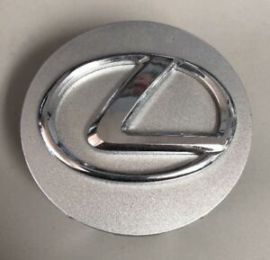 Lexus Wheel Hub Center Cap Oem Silver With Chrome Logo
