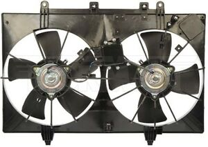 New Engine Radiator Dual Cooling Fan Assembly With Controller Dorman 621 243