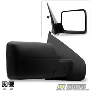 Passenger Side Right 2004 2014 Ford F150 F 150 Pickup Truck Manual View Mirror