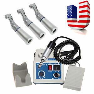 35k Rpm Marathon Dental Lab Electric Micromotor N3 3 Slow Contra Angle Fit Nsk