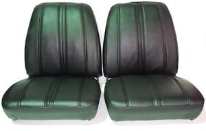 1968 Roadrunner Seat Covers Bucket Style Plymouth Gtx Sport Satellite Black Hemi