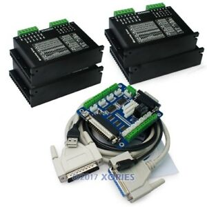 Cnc Kit 5 Axis Cnc Breakout Board cables 4 Axis M542 Stepper Driver Controller