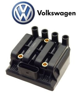For Vw Beetle Jetta Golf 2 0l L4 Ignition Coil Transformer Genuine 06a905097a