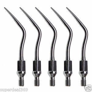 5 dental Ultrasonic Multifunctional Scaler Tips Fit Kavo Sonicflex Handpiece Gk4