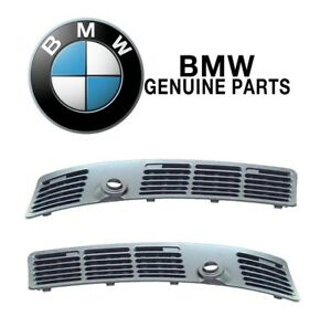 For Bmw E30 E36 Pair Set Of Left Right Windshield Cowl Grille Genuine