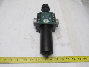 Rexroth 5351330260 Fr c25i 12 Bar Inline Air Filter Regulator 1 Ports