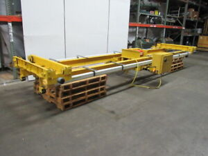 2 Ton Double Girder Under Hung Bridge Crane Electric Hoist 11 Lift 20 Span