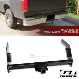 Class 3 Matte Black Trailer Hitch Receiver Tow 2 For 1984 1995 Toyota Pickup