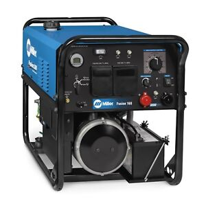 Miller Fusion 160 Welder generator W electric Start 907720001