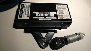 Saab 9 3 93 9 5 95 Twice Module With Matching Key And Ignition Tumbler 5042189