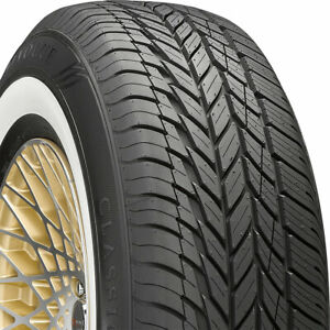 4 New 235 75 15 Vogue Classic White 75r R15 Tires 33289