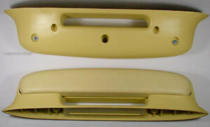2 Yellow Arm Rests For 1957 Chevy Bel Air Or 57 Chevrolet Nomad 4260449