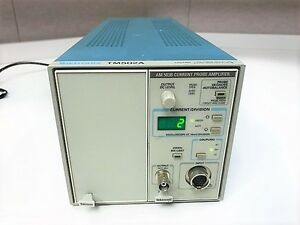 Tektronix Tm502a Mainframe With Am503 Current Probe Amplifier