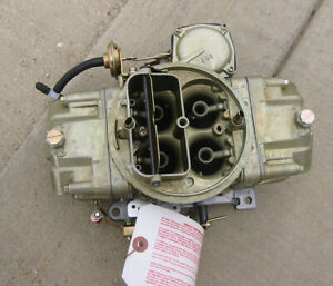 1968 69 Chevy Chevrolet Camaro Z 28 Holley Carb Dz 4053 Dated 891 Gm 3923289