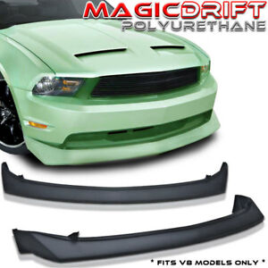For 10 11 12 Ford Mustang Gt V8 B2 Style Urethane Front Bumper Chin Lip Spoiler