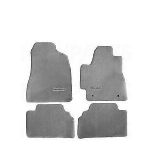 New Toyota Highlander 04 07 Without 3rd Row Ash Gray Carpet Floor Mats Genuine