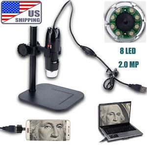 20x 800x 2mp Usb Digital Microscope Endoscope Video Inspection Camera Android