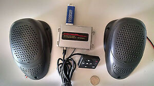 Add A Hidden Secret Mp3 Stereo System W Speakers To Classic Vintage Car Sd Usb