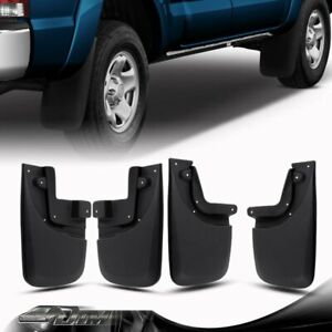 Fit 2005 2015 Toyota Tacoma Mud Flaps Splash Guards With Oem Fender Flare 4pcs