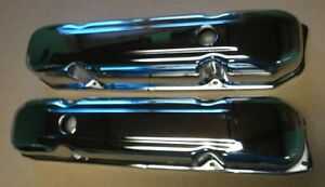 Mopar 383 440 400 Charger Coronet Gtx Dart Big Block Chrome Valve Covers New