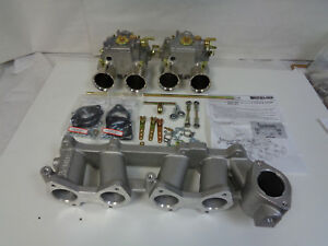 Toyota 22r Dual Weber 45 Dcoe Conversion Kit Manifold Linkage Genuine Weber
