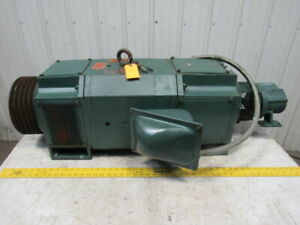 Reliance 75hp Dc Electric Motor 500vdc 127a Mc2812atz Frame