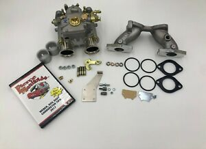 Mga Mgb 40 Dcoe Carburetor Conversion Genuine Weber 40 Dcoe K040 Kit W Dvd