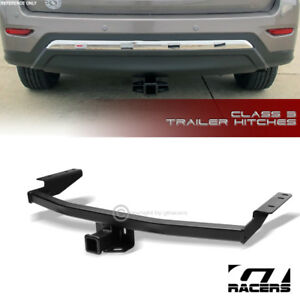 Class 3 Matte Blk Trailer Hitch Receiver Towing 2 For 2013 2018 Pathfinder qx60