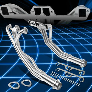 For 68 74 Dodge D100 d200 m300 5 2l 5 9l V8 Pair Racing Exhaust Manifold Header