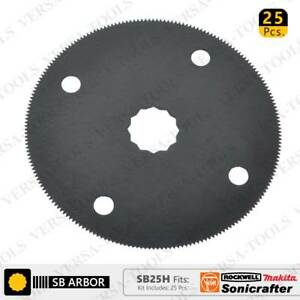 SB25H 80mm HSS Circular Multi-Tool Saw Blades 25Pack Fits Fein Multimaster