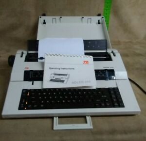Vintage 90 s Ta Adler 310 Correcting Selectric Ii Electric Typewriter Tested