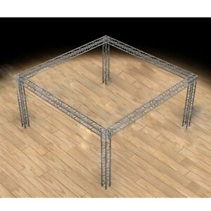 Global Truss 20 x20 Trade Show Booth Modular F34 Box Truss With Ujb Corners