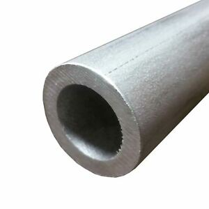 304 Stainless Steel Round Tube 1 1 2 Wall 0 250 Length 48 Seamless