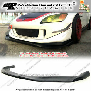 For Honda S2000 S2k Ap2 W Cr Front Bumper Lip Under Chin Spoiler Splitter Wing